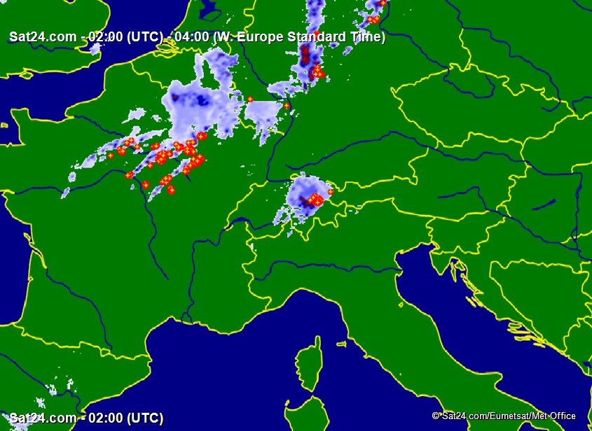 Satellite – Radar Alps