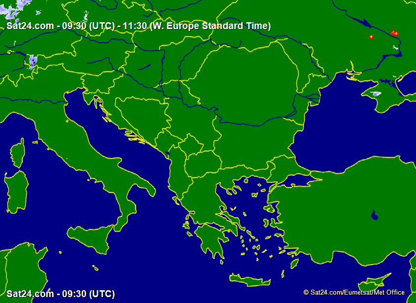 Prognoza meteo Romania 2 Noiembrie 2020 (Romania weather forecast)