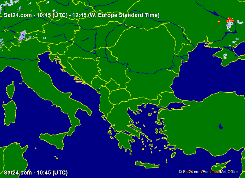 Prognoza meteo Romania 11 Februarie 2019 #Romania (Romania weather forecast for today).