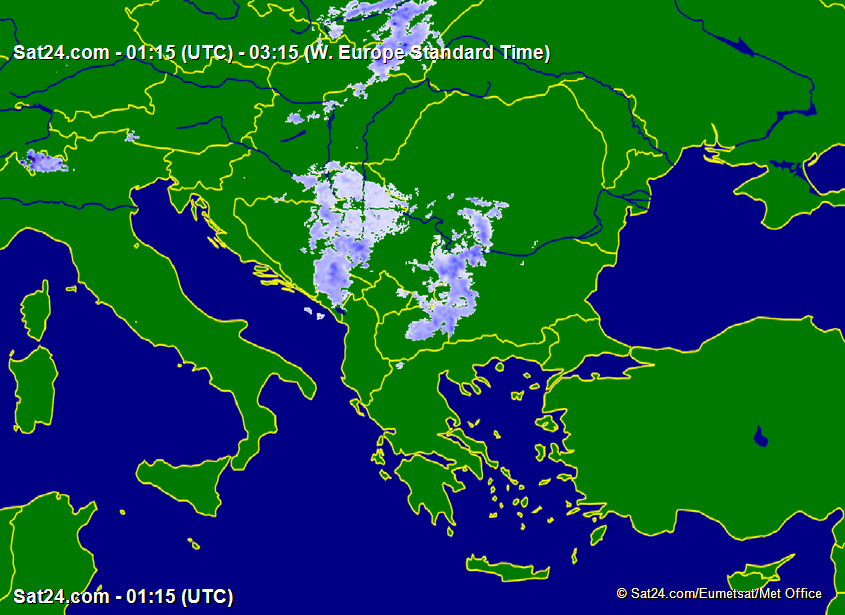 Prognoza meteo Romania 18 Ianuarie 2019 #Romania (Romania weather forecast for today).