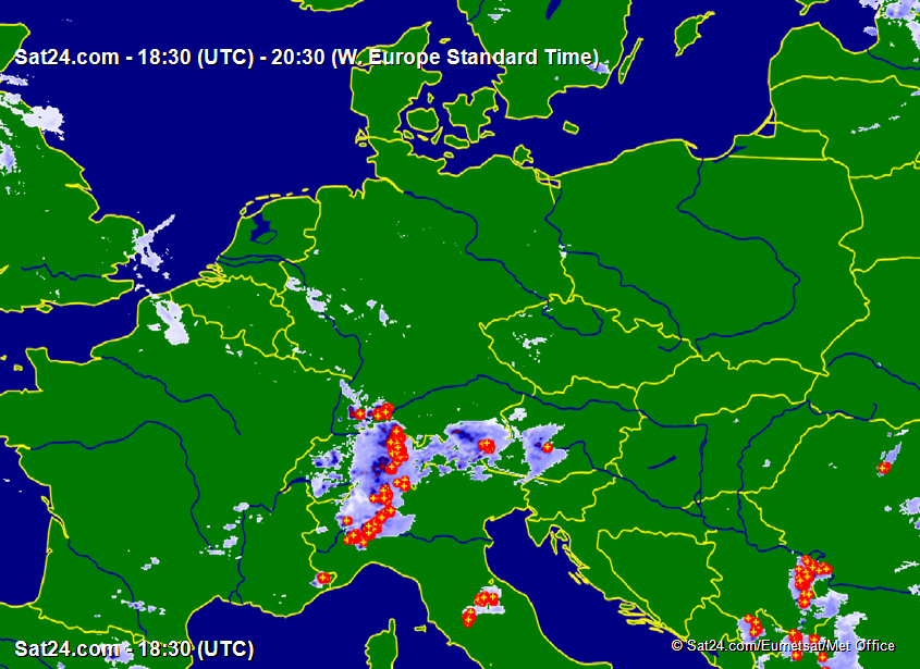 Satellite - Radar Germany