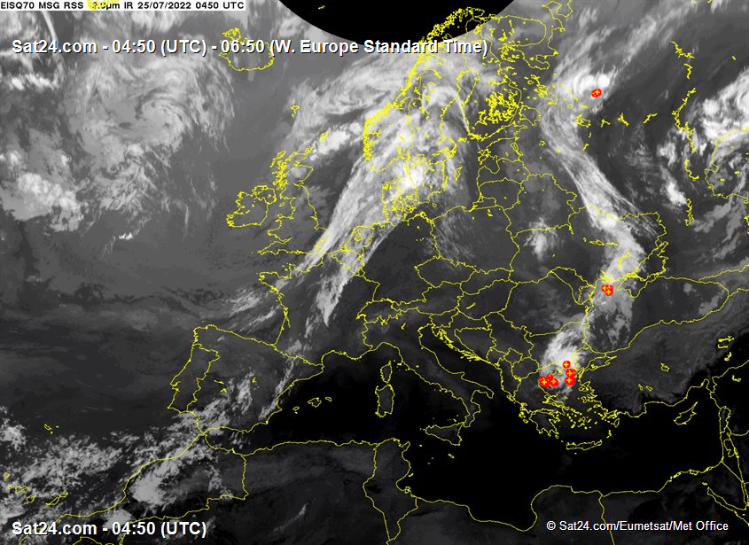 """Europe cloud cover infrared"