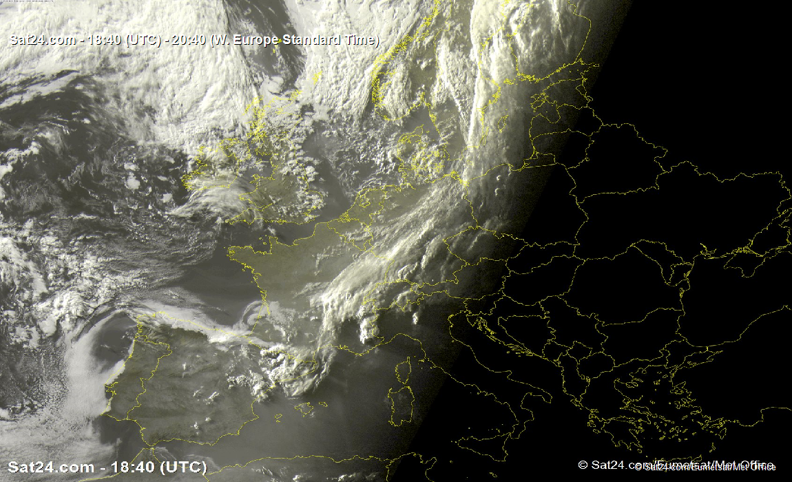 """Europe cloud cover"