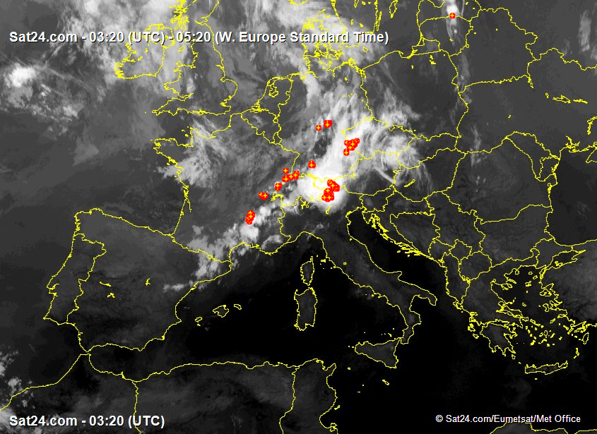 Satellite - Radar France