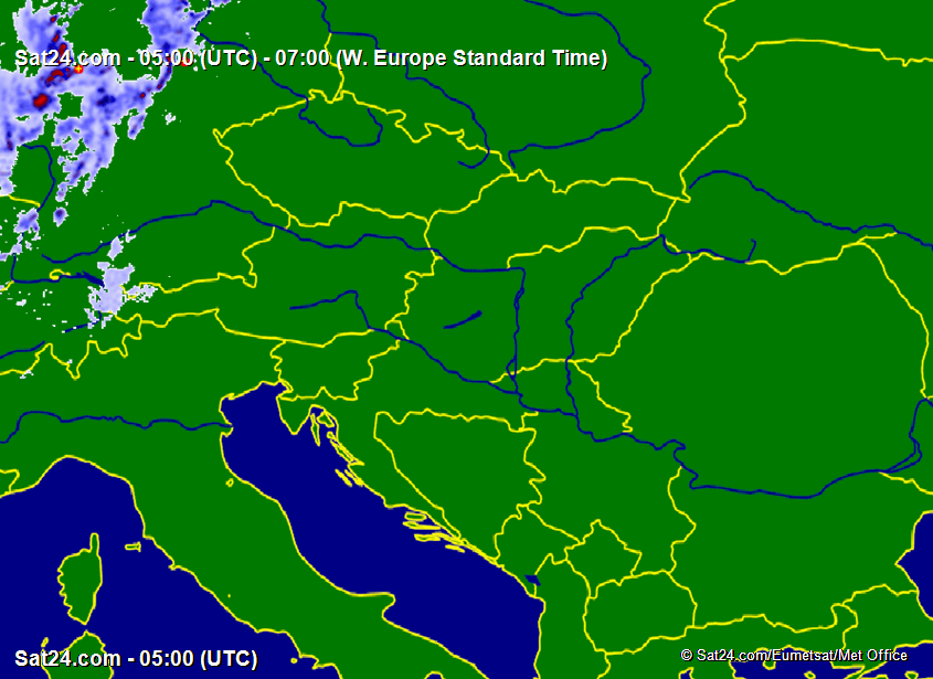 Satellite - Radar Hungary
