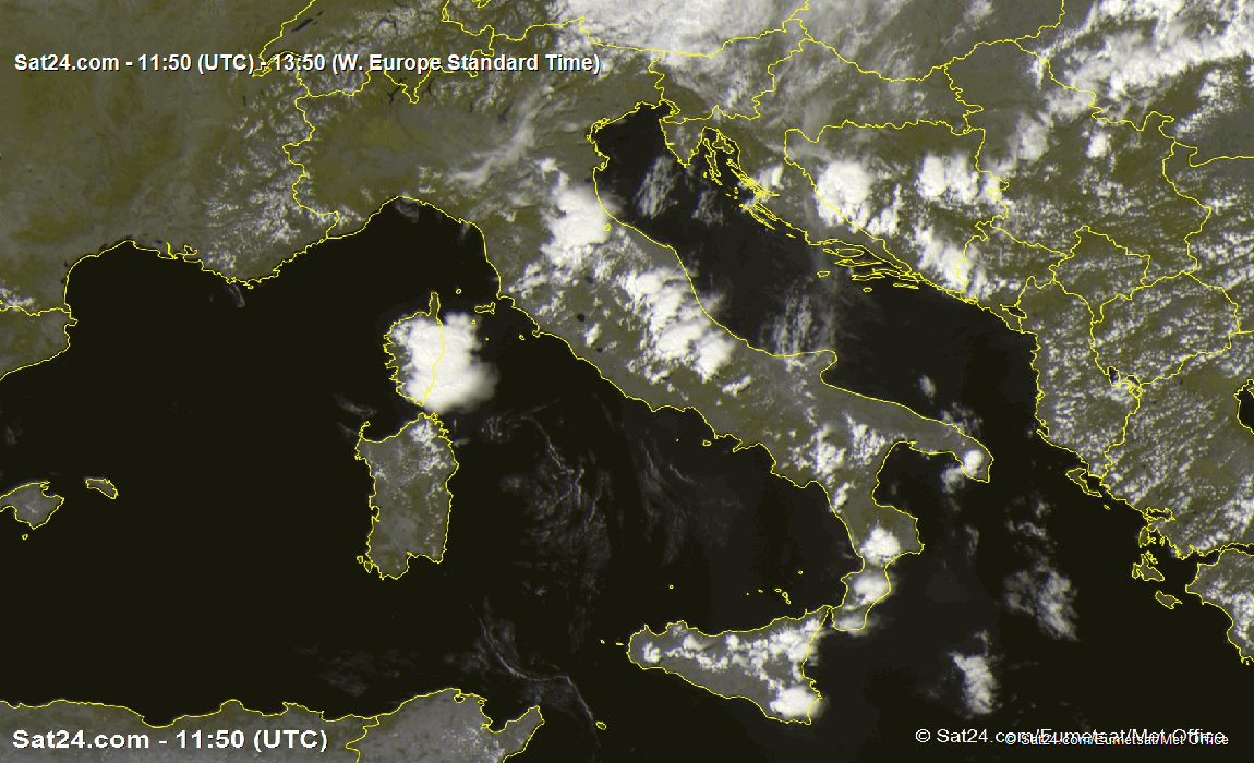 Satellite - Radar Italy