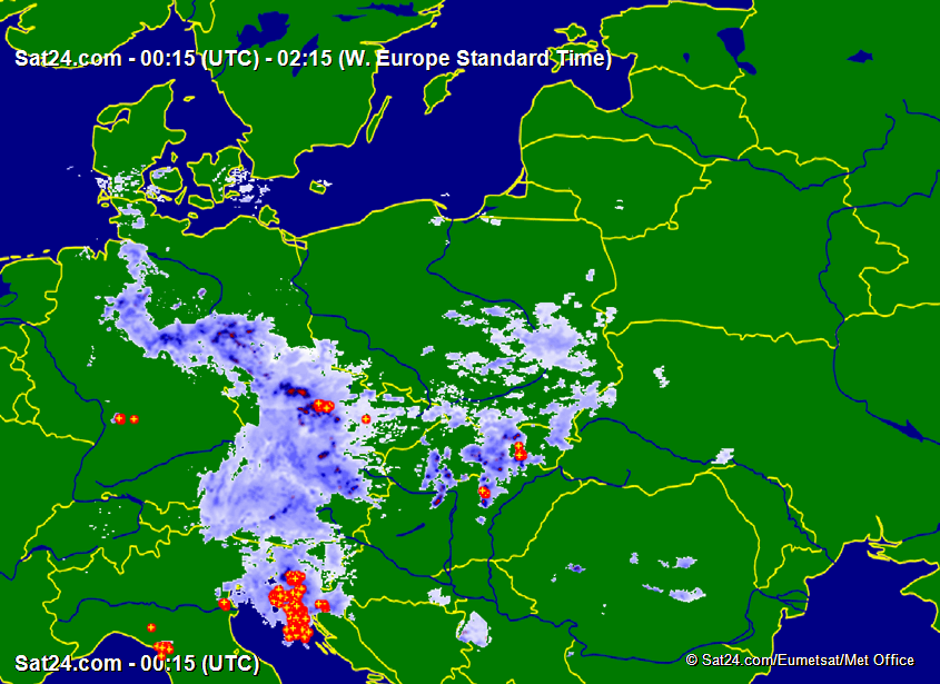 Satellite - Radar Poland