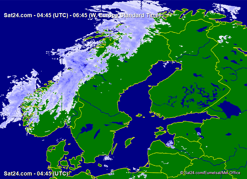 Satellite – Radar Scandinavia