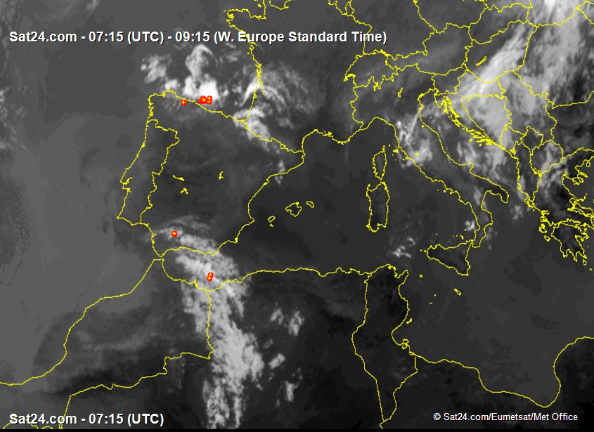 Satellite - Radar Iberian