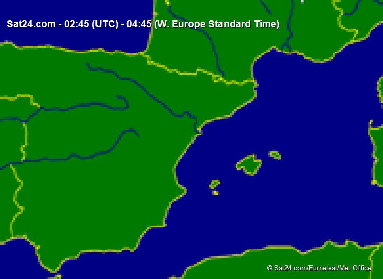 Meteox -3 hours W-Europe