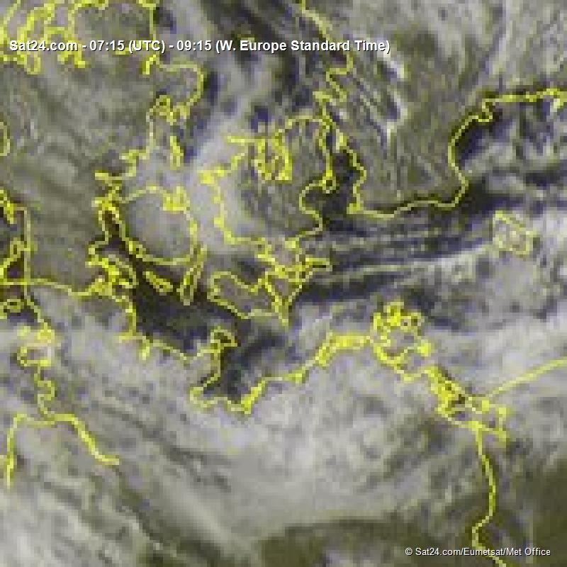 Satellit billede fra i dag